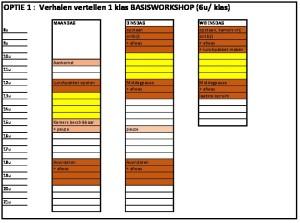 thumbnail of weekplanning Meneer Zee optie 1
