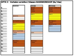 thumbnail of weekplanning Meneer Zee optie 2