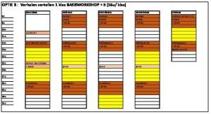 thumbnail of weekplanning Meneer Zee optie 3