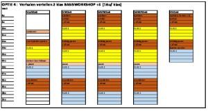 thumbnail of weekplanning Meneer Zee optie 4